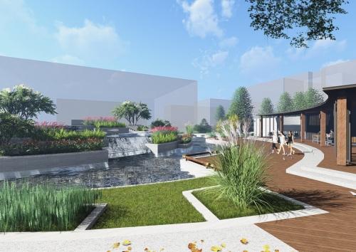 上海上药厂区景观优化与提升